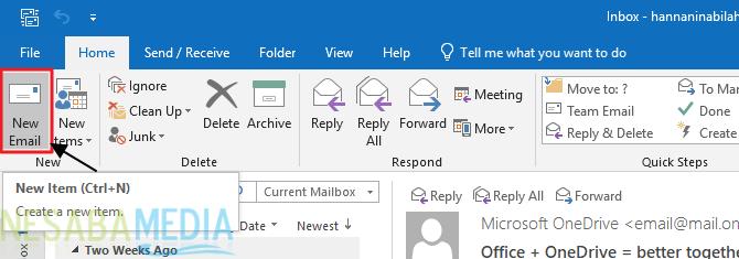 Cara Membuat Signature di Outlook