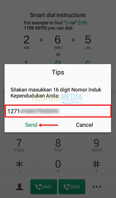 cara cek registrasi kartu telkomsel