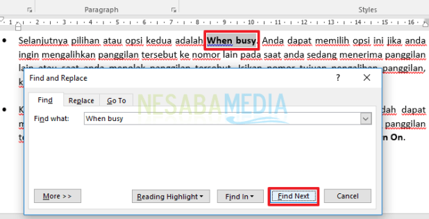 How to Find and Replace Words or Sentences in Microsoft Word