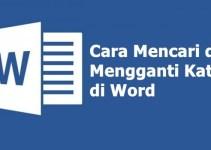 cara mencari kata di Word