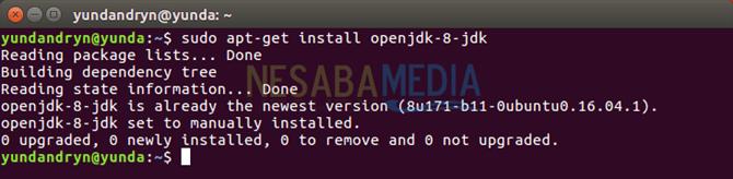 install openjdk-jdk