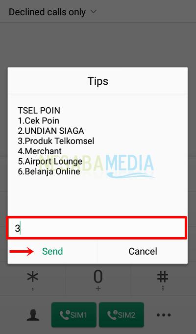 cara menukar poin telkomsel dengan kuota