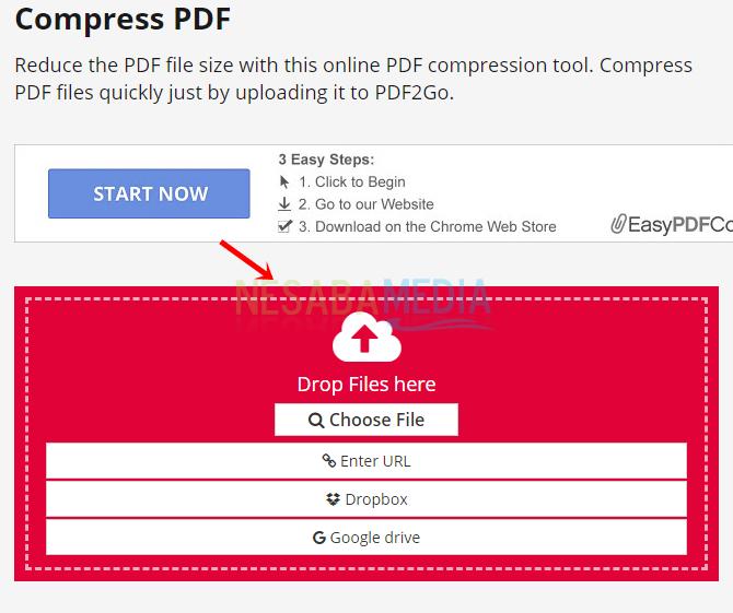 3 - pilih PDF
