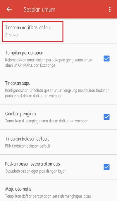 cara menghapus inbox Gmail di Android dengan mudah