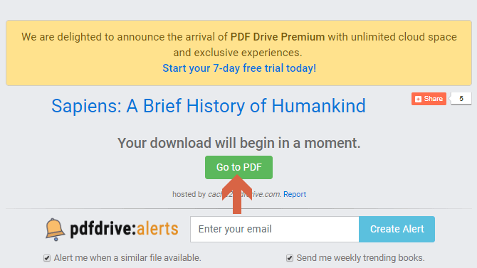Terdapat tombolGo To PDF