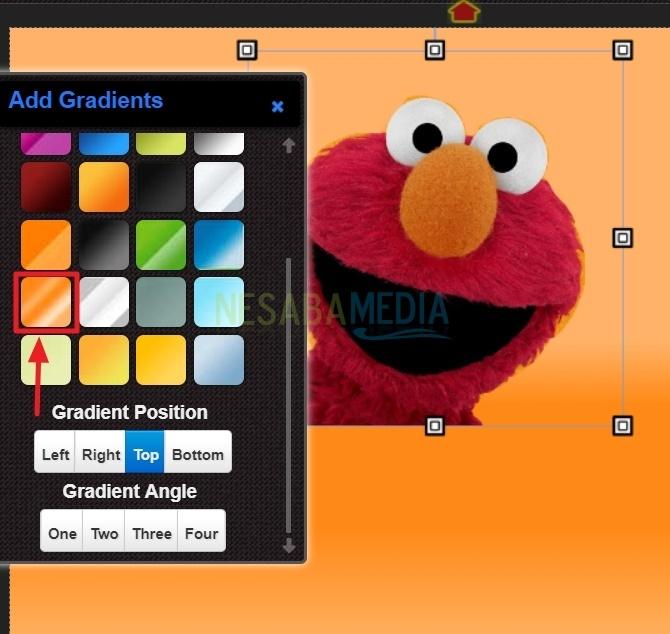 cara mengganti background foto online di HP
