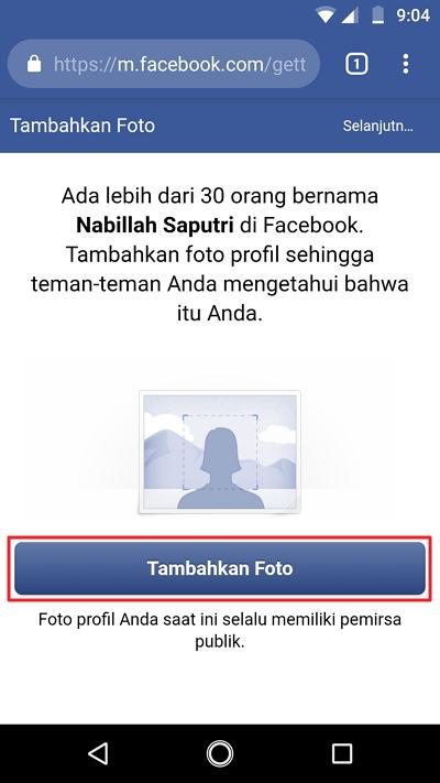Membuat facebook 10