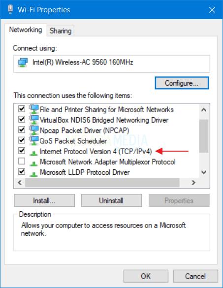 Mengganti IP Address di PC Statis 8