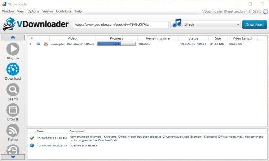 Download VDownloader Terbaru