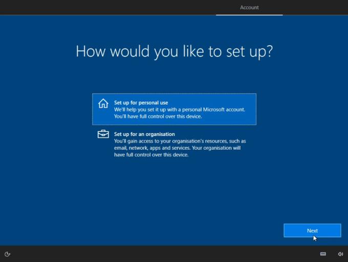 instalasi windows 10 langkah 5