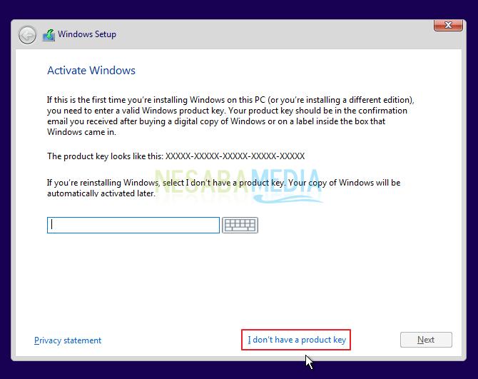 install windows 10 a