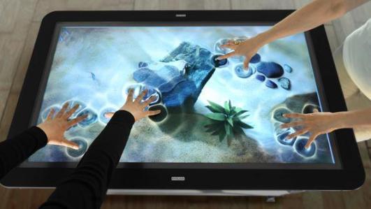 cara kerja Touchscreen