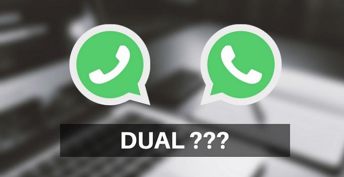 Cara Menggunakan 2 Akun Whatsapp