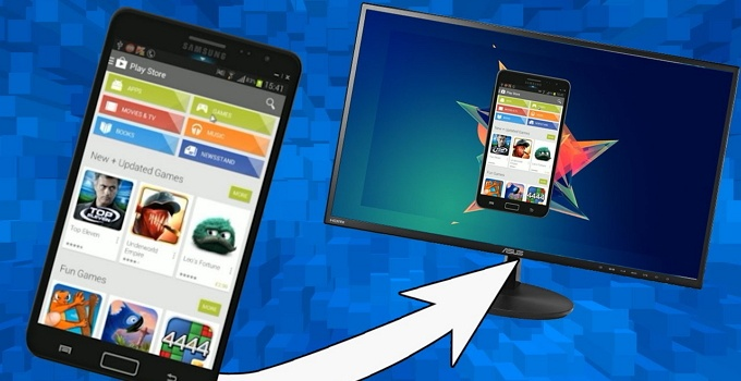Cara Sharing Data dari PC ke Android