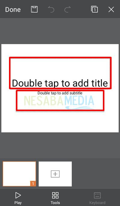 Langkah 4 - isi judul
