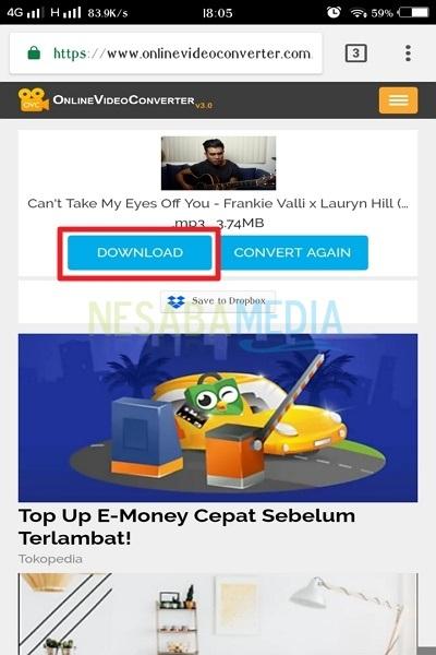 cara download lagu mp3