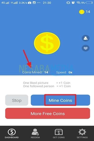 3-mine coins-tunggu