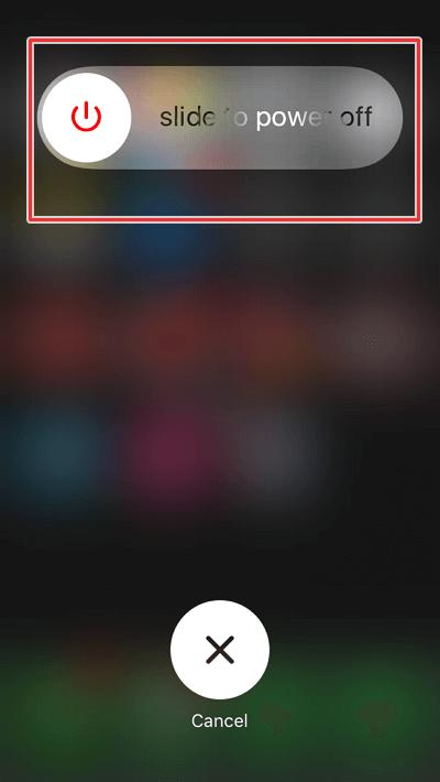 cara restart Iphone