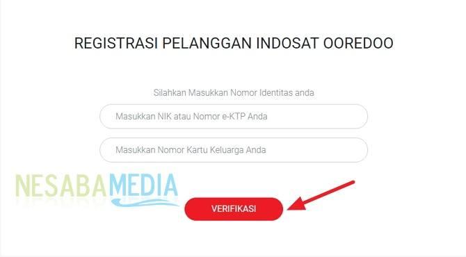 cara registrasi ulang kartu Indosat / IM3 lewat website