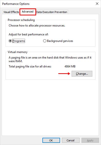 4 - cara membuat virtual memory di Windows 10