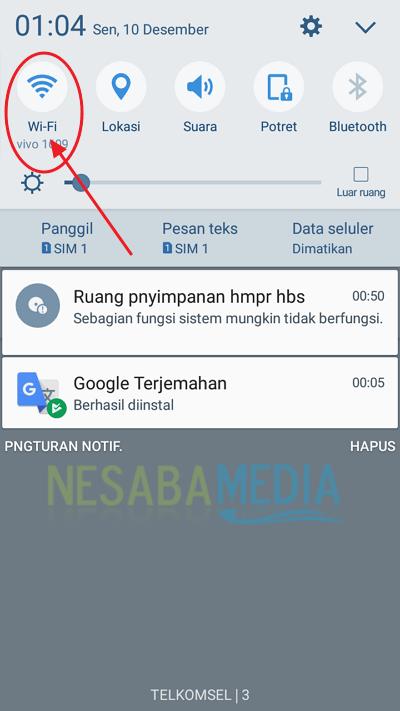 step 3 - cara menggunakan Google Translate secara offline