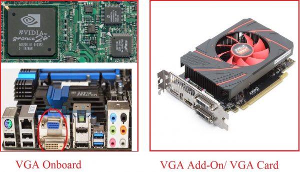 fungsi VGA Card