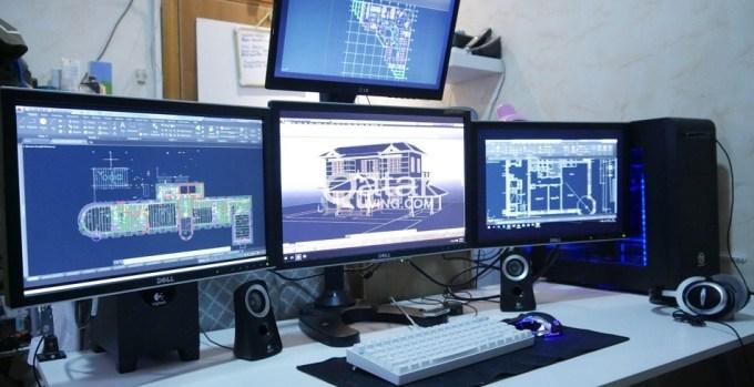 desain dengan workstation