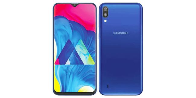 desain Galaxy M10