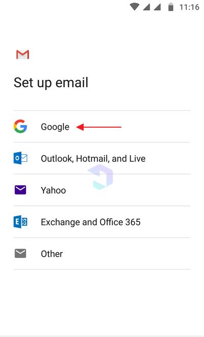 made an e-mail on cellphone 10