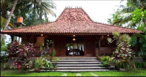 East Java Traditional House: Joglo House [19456536] </p data-recalc-dims=