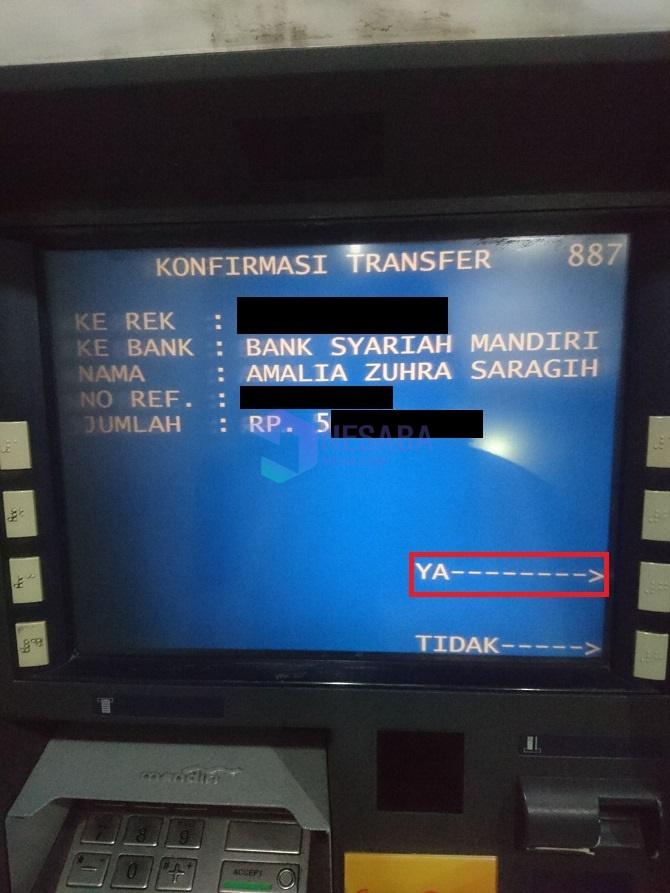 Cara Transfer di ATM Mandiri untuk Pemula