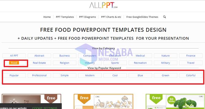 2 Cara Download Template Ppt Secara Gratis Lengkap Gambar