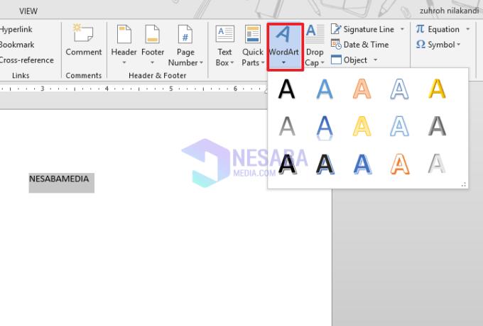 ikon word art