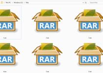 Cara Mengubah Folder ke RAR Online