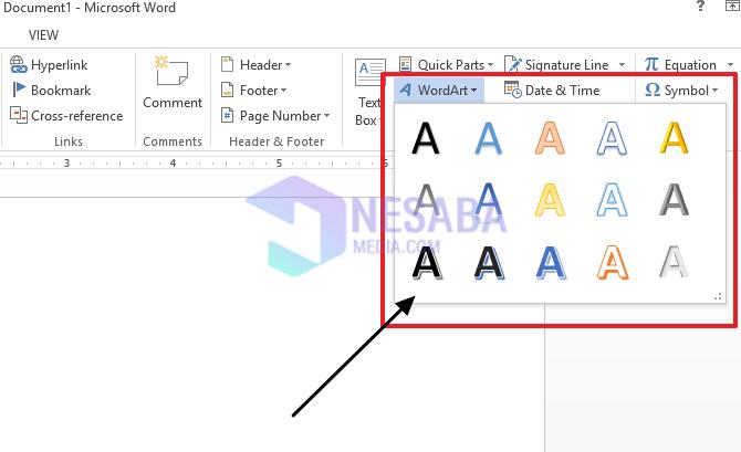 2 Cara Membuat Tulisan Melengkung Di Microsoft Word