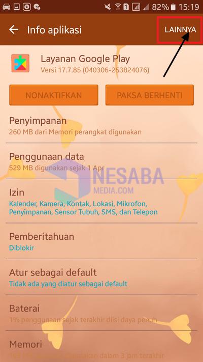 tab menu lainnya