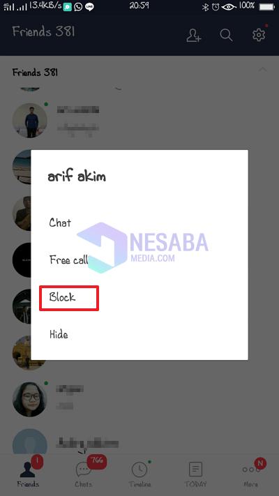 klik block