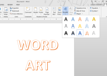 Cara Membuat Word Art di Microsoft Word