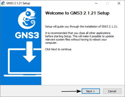 cara install GNS3 untuk pemula