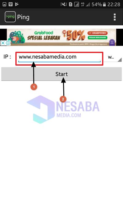 cek ip website