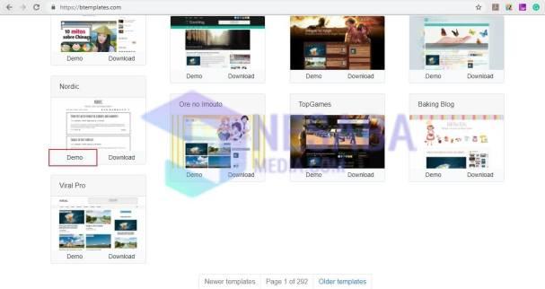 Demo templates