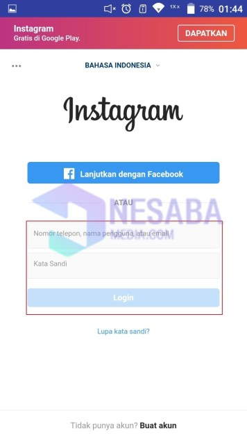 Cara download highlight instagram