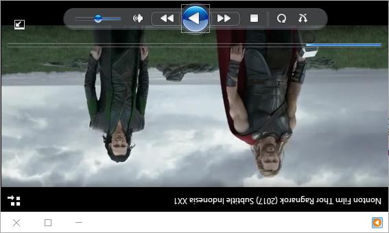 Rotasi Windows Media Player2