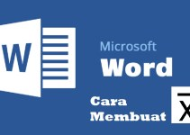 Cara Membuat Lambang X Bar di Word