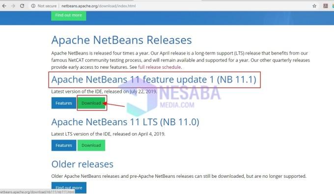 panduan cara install Netbeans