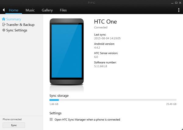Download HTC Sync Manager Terbaru