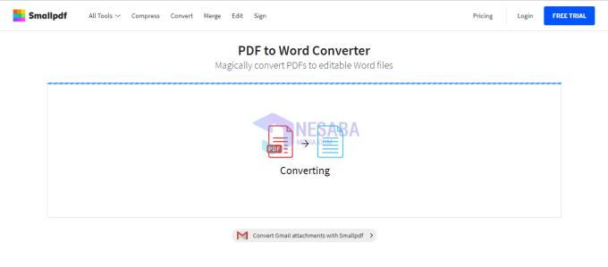 Cara Agar File PDF Bisa Dicopy Paste dengan SmallPDF