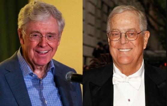 Orang Terkaya di Dunia Charles Koch dan David Koch
