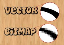 pengertian gambar bitmap dan vektor