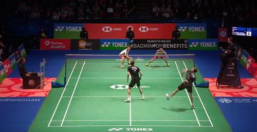 Ukuran Lapangan Bulu Tangkis (Badminton)